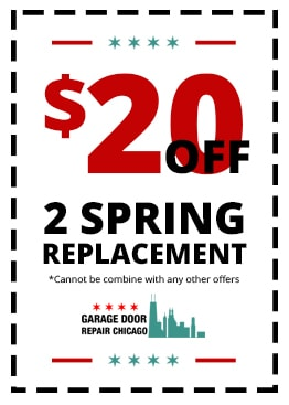 $20 off 2 spring replacement