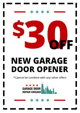 $30 off New Garage Door Opener
